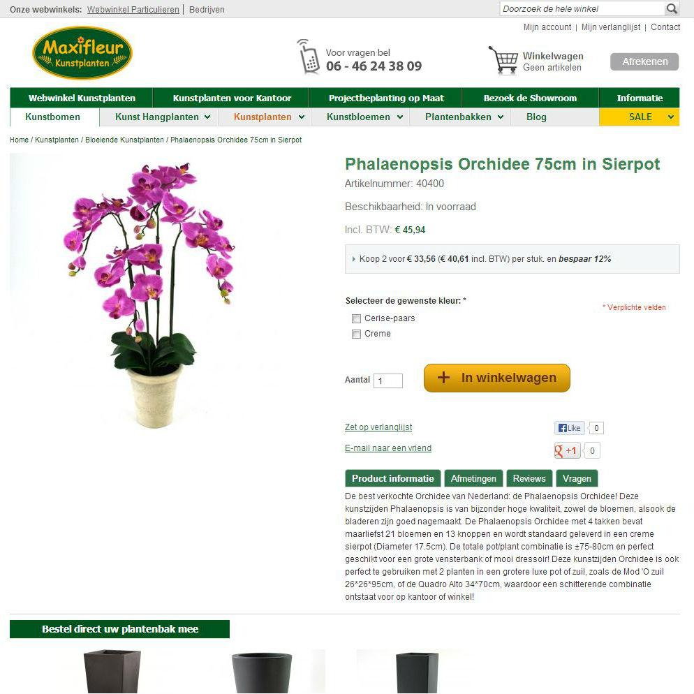 Vimodos productpagina