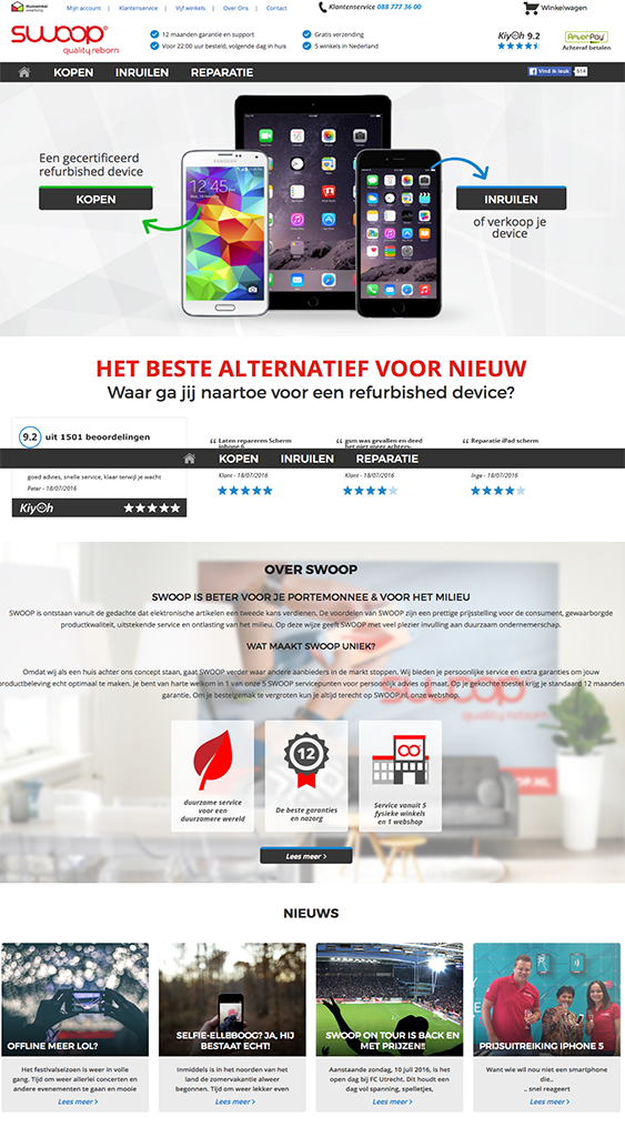 Swoop   Homepage